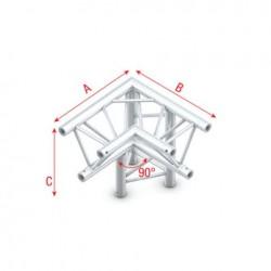 Grinda colt Showtec Corner 90° down right Deco-22 Triangle, apex down