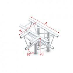 Grinda Showtec T-Cross + down 4-way Deco-22 Triangle