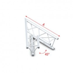 Grinda colt Showtec Corner 45° Pro-30 Triangle G Truss