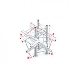 Grinda Showtec T-Cross + up/down 5-way Pro-30 Triangle G Truss