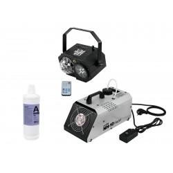 Set masina de fum + laser cu efect LED Eurolite 20000340