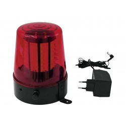 Lumina party/disco politie Eurolite LED Police Light 108 LEDs red Classic