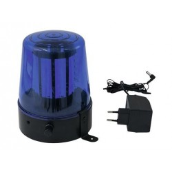 Lumina party/disco politie Eurolite LED Police Light 108 LEDs blue Classic
