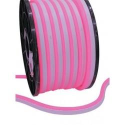 Furtun de lumini cu LED, 10m, rosu, Eurolite LED Neon Flex 230V EC red 100 cm