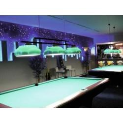 Furtun de lumini cu LED, 10m, albastru, Eurolite LED Neon Flex 230V EC blue 100 cm