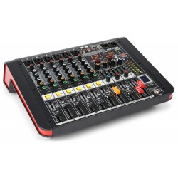 Mixer amplificat 6 canale BT/ USB Power Dynamics PDM-M604A