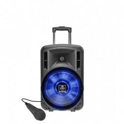 Boxa portabila cu acumulator, microfon si BT Idance Groove320