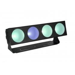 Bara color changing cu LED-uri COB, Eurolite LED CBB-4 COB RGB Bar