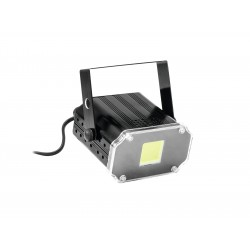 Strobe Eurolite LED Disco Strobe COB white, sound