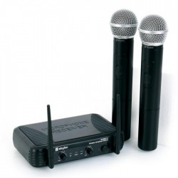 Set 2 microfoane wireless Skytec STWM-712