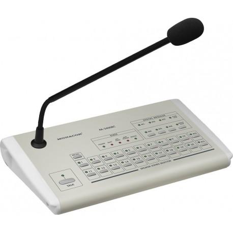 Microfon PA 20 zone Monacor PA-2400RC