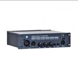 Amplificator mobil 12/24V cu 2 canale si ton sirena 600 Hz, RCF AM6020