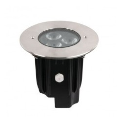 Proiector LED incastrabil, 230V Artecta Porto Ground 9 RGBW