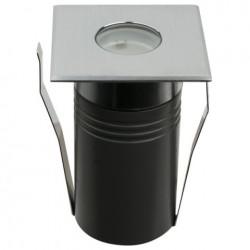 Proiector LED incastrabil, 230V Artecta Fresno-1SQ Symmetric 3000 K