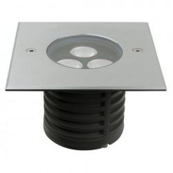 Proiector LED incastrabil, 230V Artecta Missoula-3SQ Symmetric 3000 K
