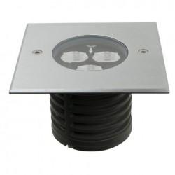 Proiector LED incastrabil, 230V Artecta Missoula-3SQ Asymmetric 3000 K