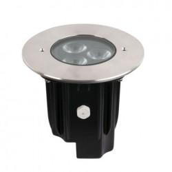 Proiector LED incastrabil, 230V Artecta Porto Ground 9 WW