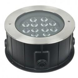 Proiector LED incastrabil, 230V Artecta Porto Ground 12 Amber
