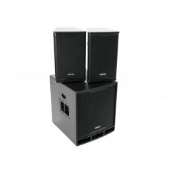 Sistem activ PA cu DSP 2.1, 1200W, Omnitronic MAXX-1200DSP 2.1
