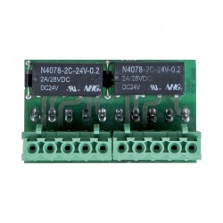 Circuit control amplificare RCF AC 7212