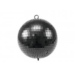 Sfera cu oglinzi, 20cm, Eurolite Mirror Ball 20cm black matt