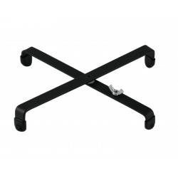Suport instrumente suflat DIMAVERY Cross shaped stand for wind instrument stands, bl