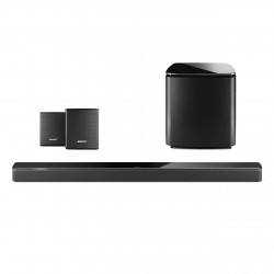 Pachet Soundbar Bose 700 + bas Bose 700 + boxe Bose Surround Black