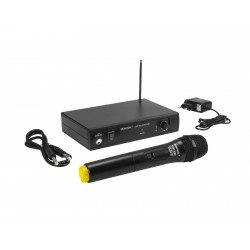 Set microfon wireless Omnitronic VHF-101 214.35MHz