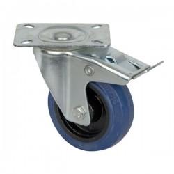 Roata cu blocare DAP Audio Blue Wheel, 100 mm D8002