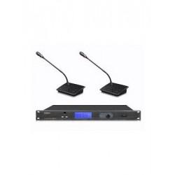 Sistem de conferinta wireless UHF cu 2 canale Gestton EG-2202