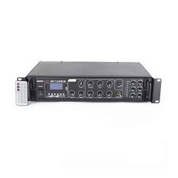 Amplificator 100V 6 zone cu mp3 player, tuner FM si bluetoothMaster Audio MV1100CR BLUETOOTH
