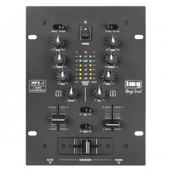 Mixer Dj stereo Stage Line MPX-1/BK