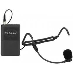 Transmitator cu microfon tip headband Stage Line TXS-822SX