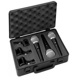 Set microfon dinamic Stage Line DM-3SET