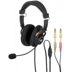 Casti stereo cu microfon Monacor BH-003