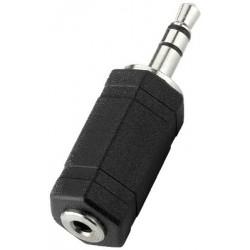 Adaptor Jack 3.5 tata stereo - Jack 2.5 mama stereo Monacor NTA-180