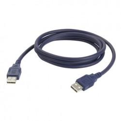 Cablu USB A la USB A, 1.5 m, DAP-Audio FC-01150-1.5.