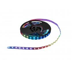 Banda de 150 LED-uri, 5m, RGB, 5V Eurolite LED Pixel Strip 150 5m RGB 5V