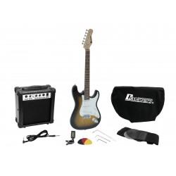 Set chitara electrica Dimavery EGS-1 Electric guitar set, sunburst