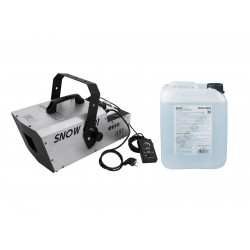 Set masina de zapada + 5l lichid Eurolite Set Snow 6001 Snow machine + Snow fluid 5l