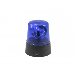 Girofar Eurolite LED Mini Police Beacon blue USB/Battery