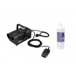 Set N-10 black + A2D Action smoke fluid 1l EUROLITE