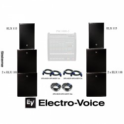 Sistem audio ElectroVoice ELX 3