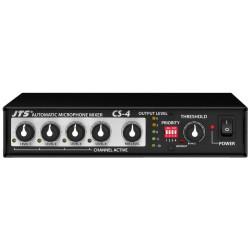 Mixer automat cu 4 canale pentru microfoane JTS CS-4