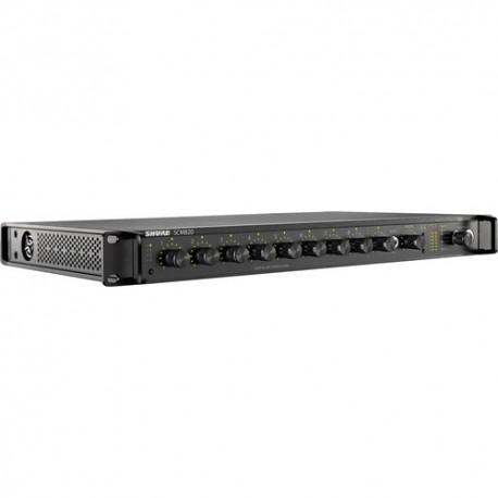 Mixer automat cu 8 canale pentru microfoane Shure SCM820