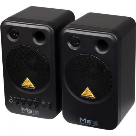 Set monitoare multimedia (activ + pasiv) Behringer MS16