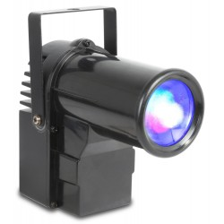 Proiector BeamZ PS10W Pin Spot LED 10W 4-in-1 DMX
