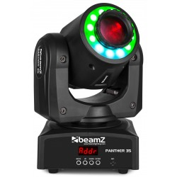 Moving Head Spot LED cu inel LED BeamZ Panther35