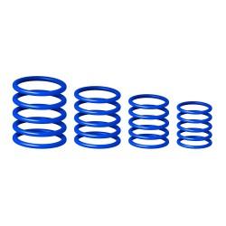 Set 20 inele bleumarin, Gravity RP 5555 BLU 2