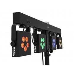 Bara cu 4 proiectoare RGB+WW EUROLITE LED KLS-902 Next Compact Light Sett